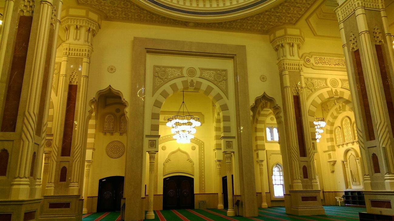 В мечети Al Noor Mosque