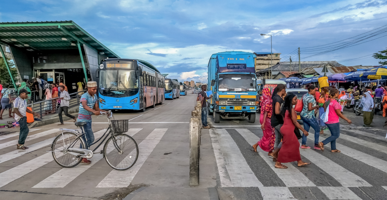 Дар-эс-Салам многонациональный мегаполис