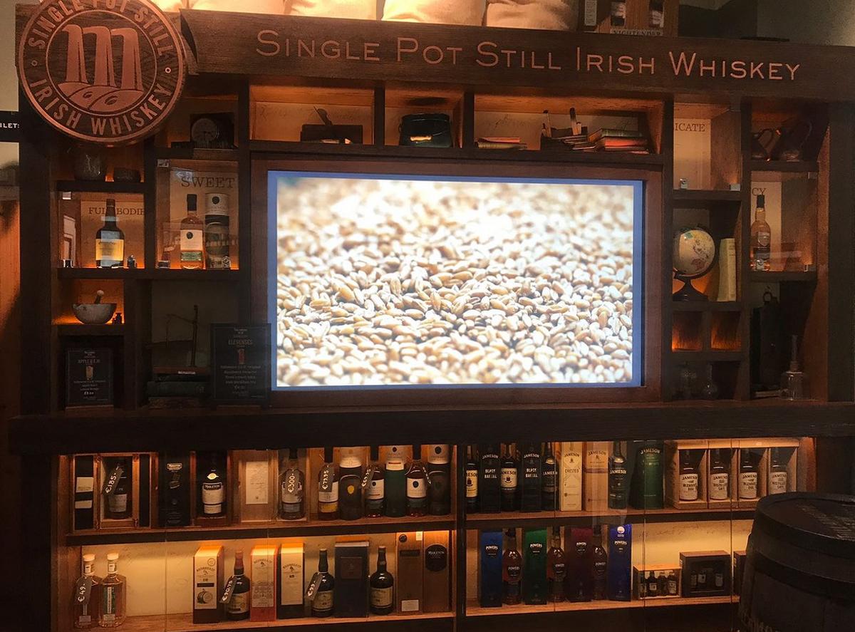 Интерактивное ознакомление с процессом производства виски