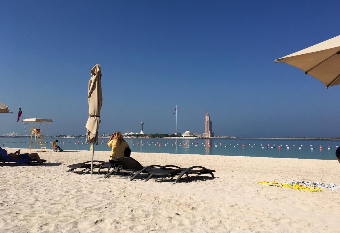 Пляж Корниш в Абу-Даби