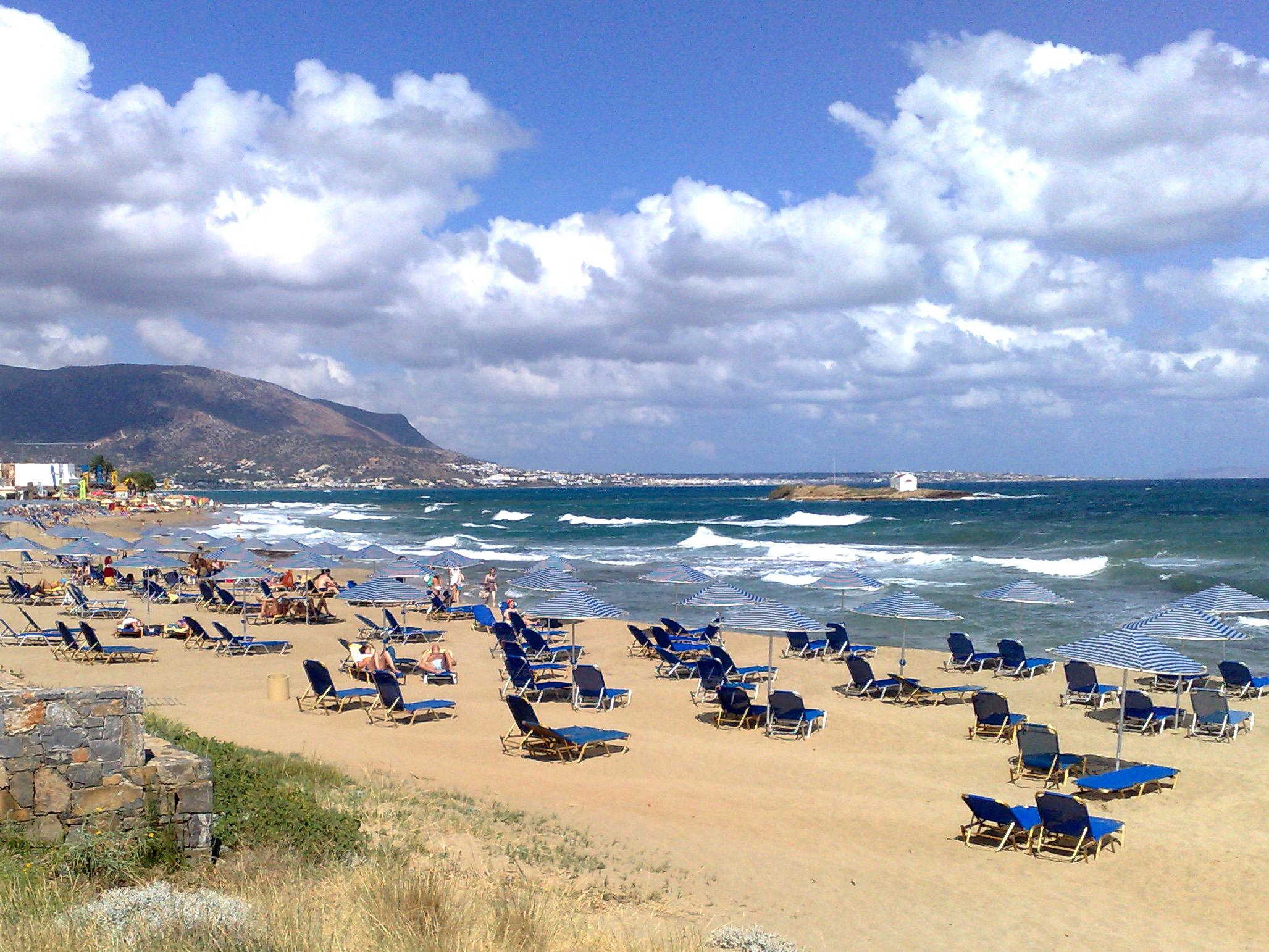 Крит в начале октября