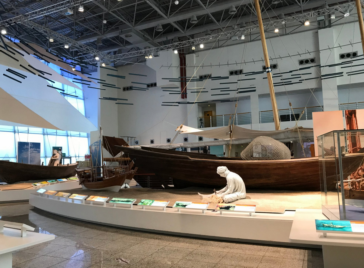 Морской музей, Шарджа