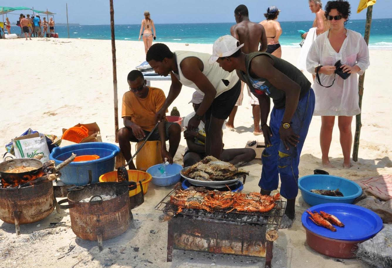 Торговцы морепродуктами