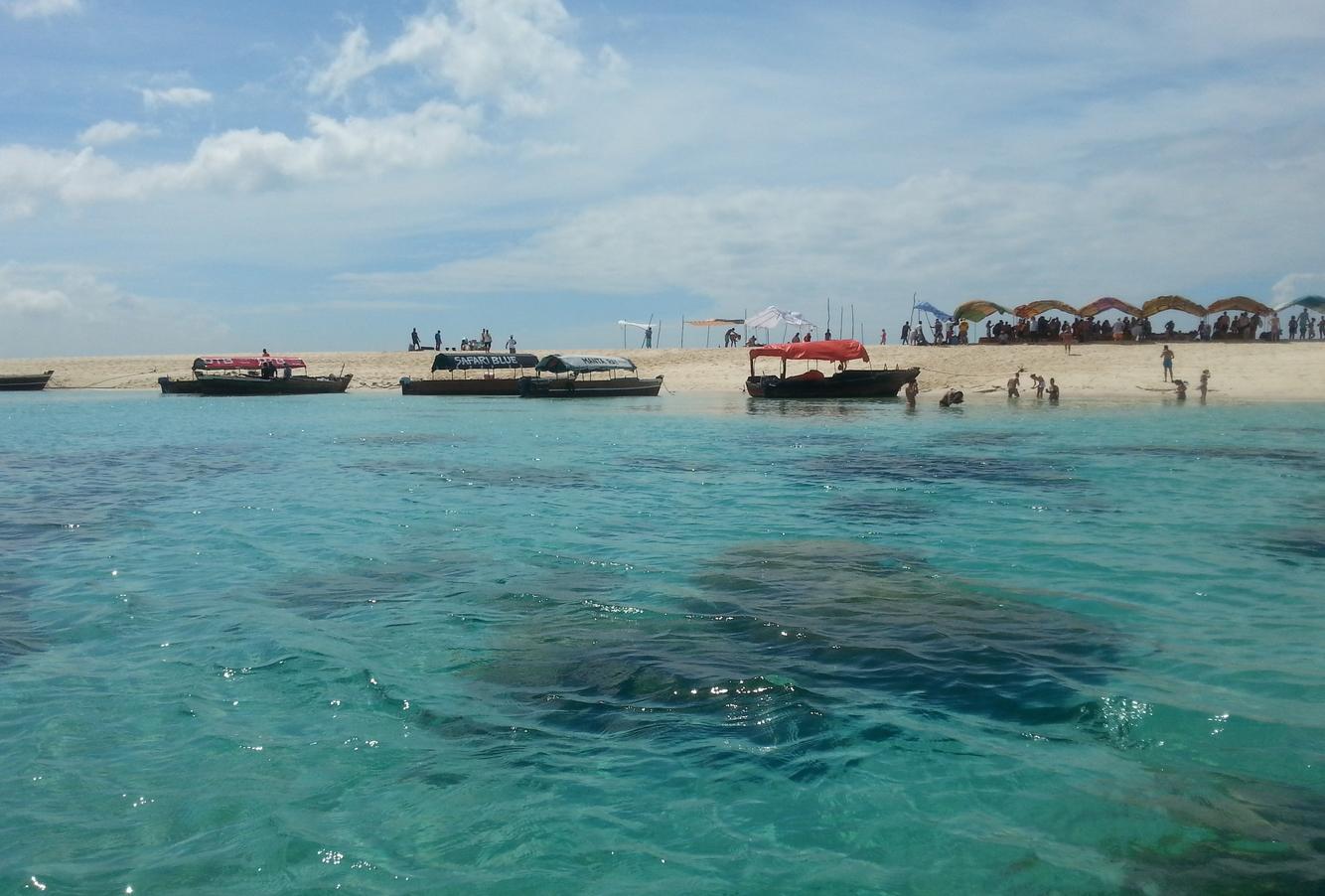 Пляж на острове Накупенда