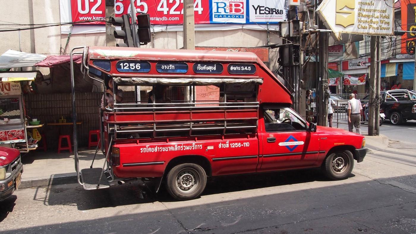 Общественный транспорт на Самуи - Сонгтео