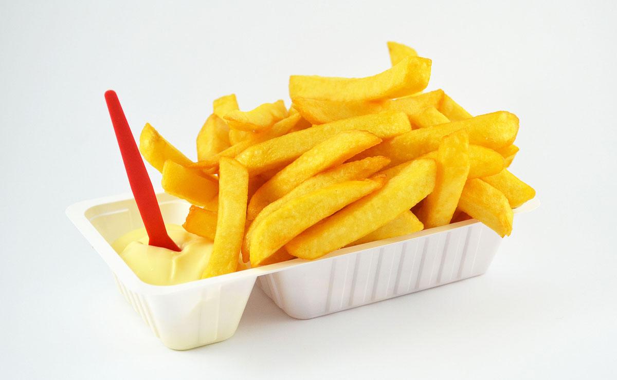 Картошка-фри крупными ломтиками - Патат