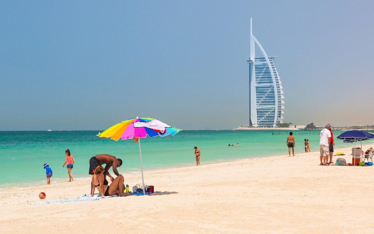Самые популярные пляжи Дубая