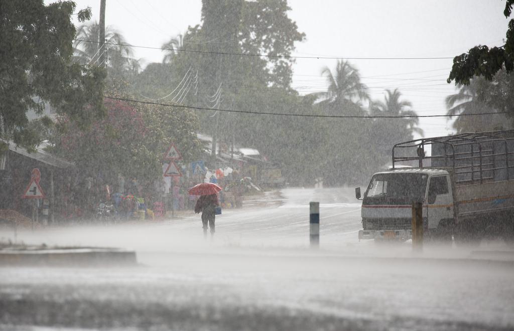 Проливные дожди на Занзибаре