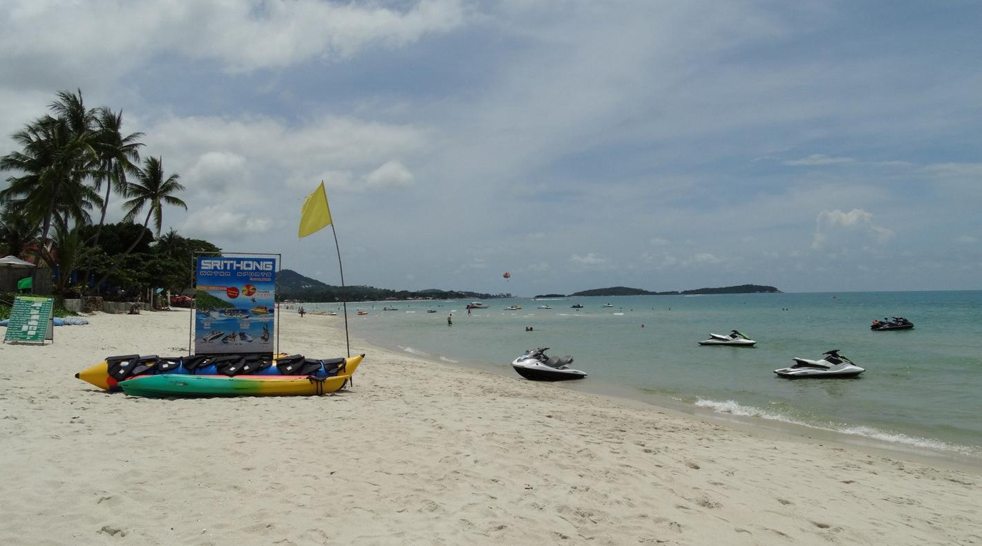 Развлечения на пляже Чавенг-Бич