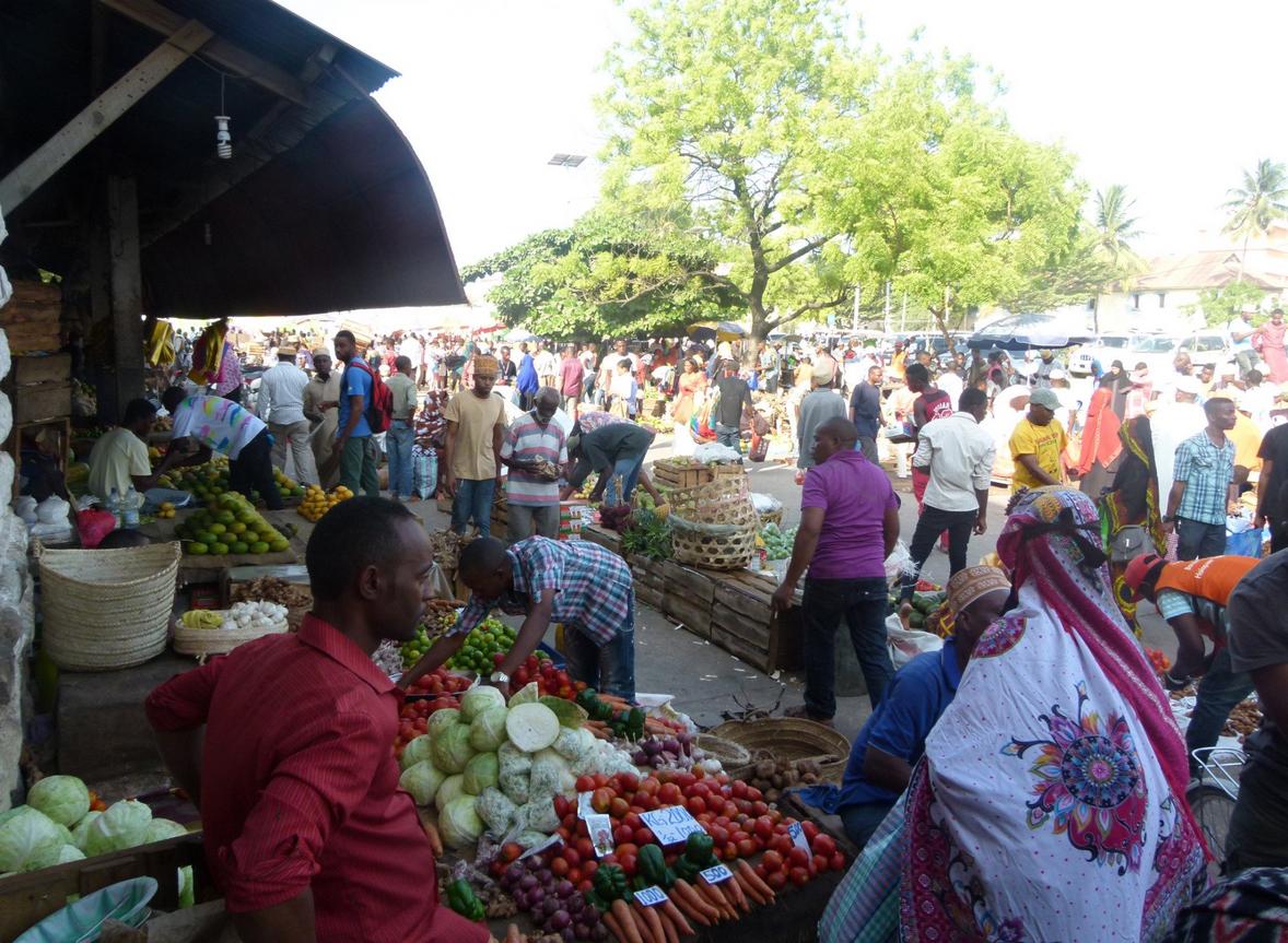 Рынок Darajani Bazaar