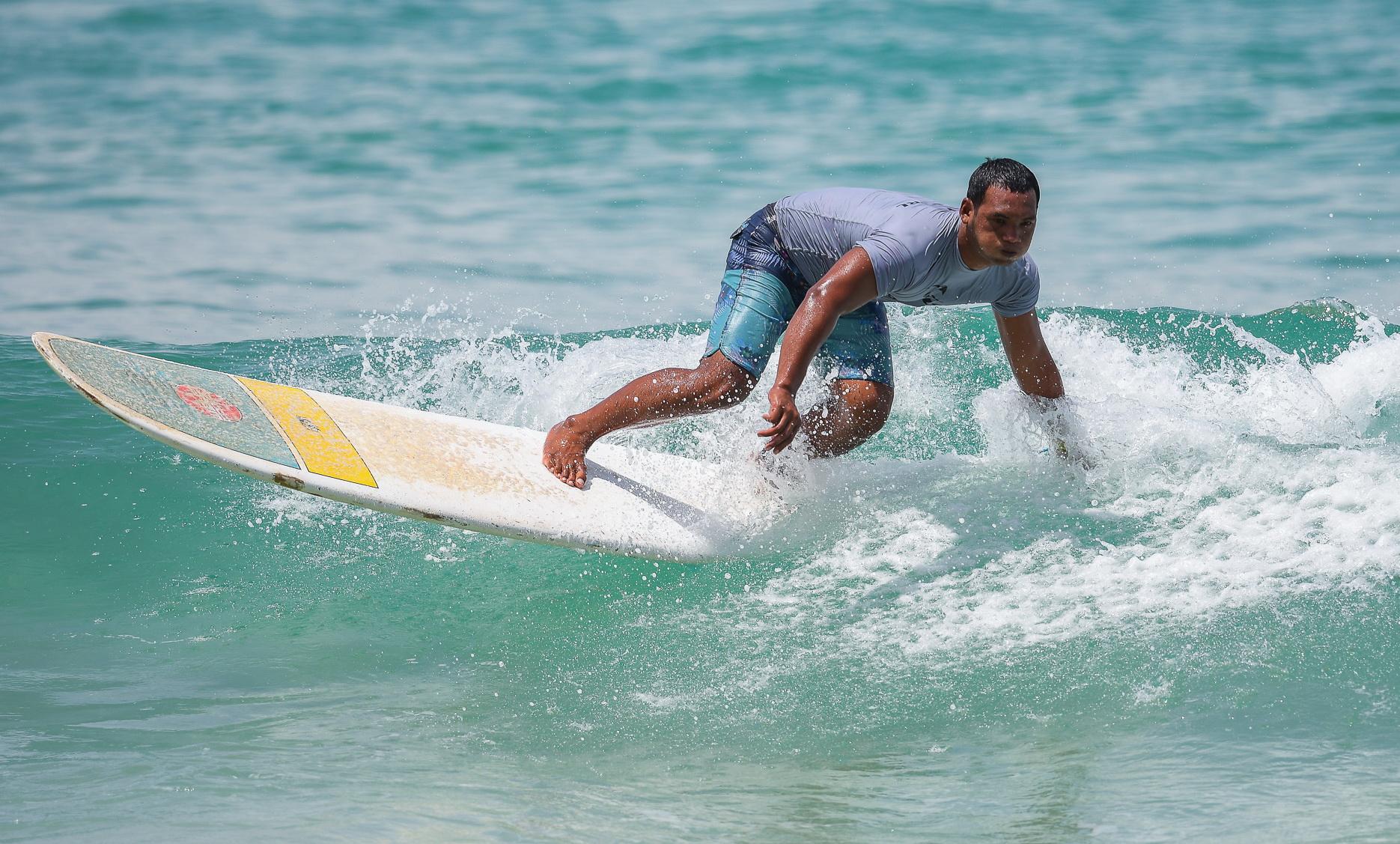 Серфинг в Таиланде
