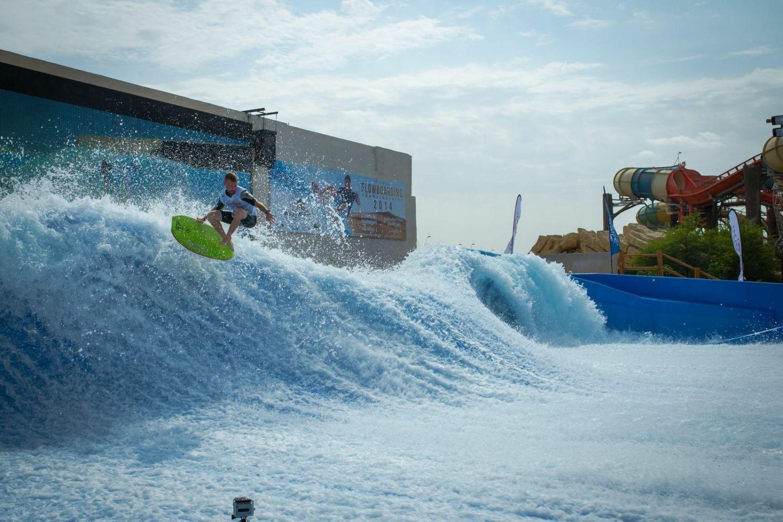 Бассейн для профессиональных серфингистов