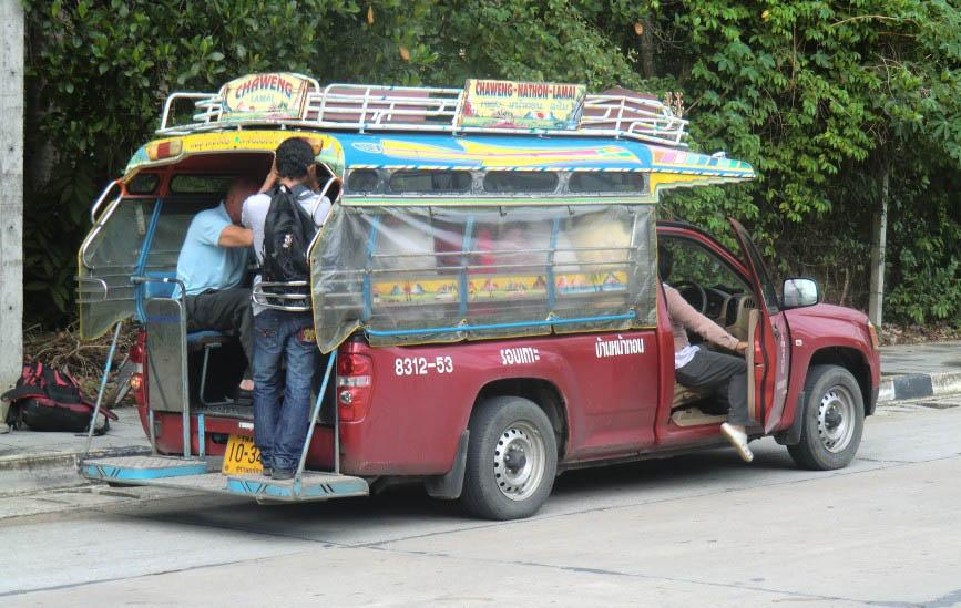 Сонгтео - маршрутное такси