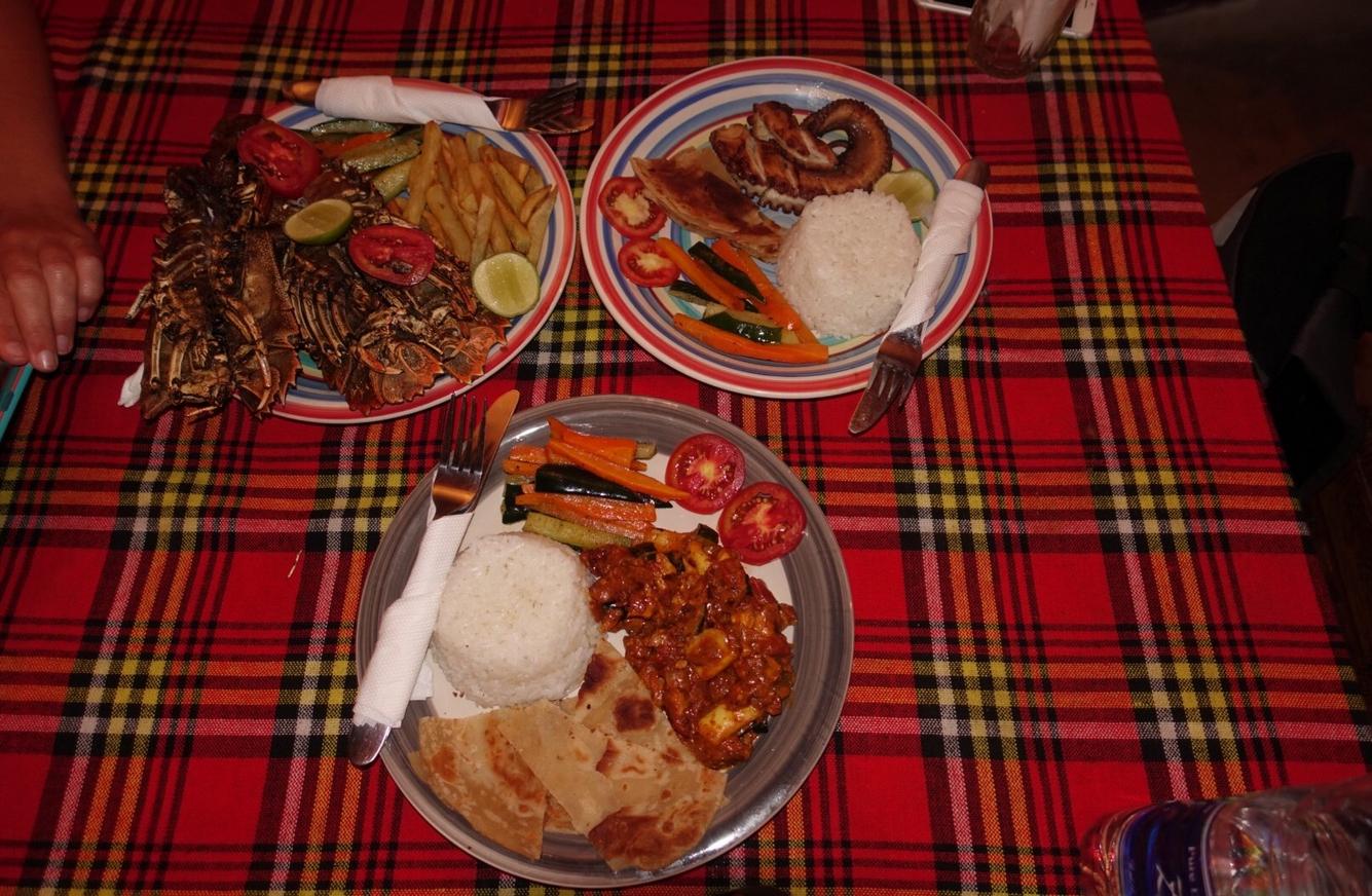 Стоимость питания в Нунгви самая низкая на острове