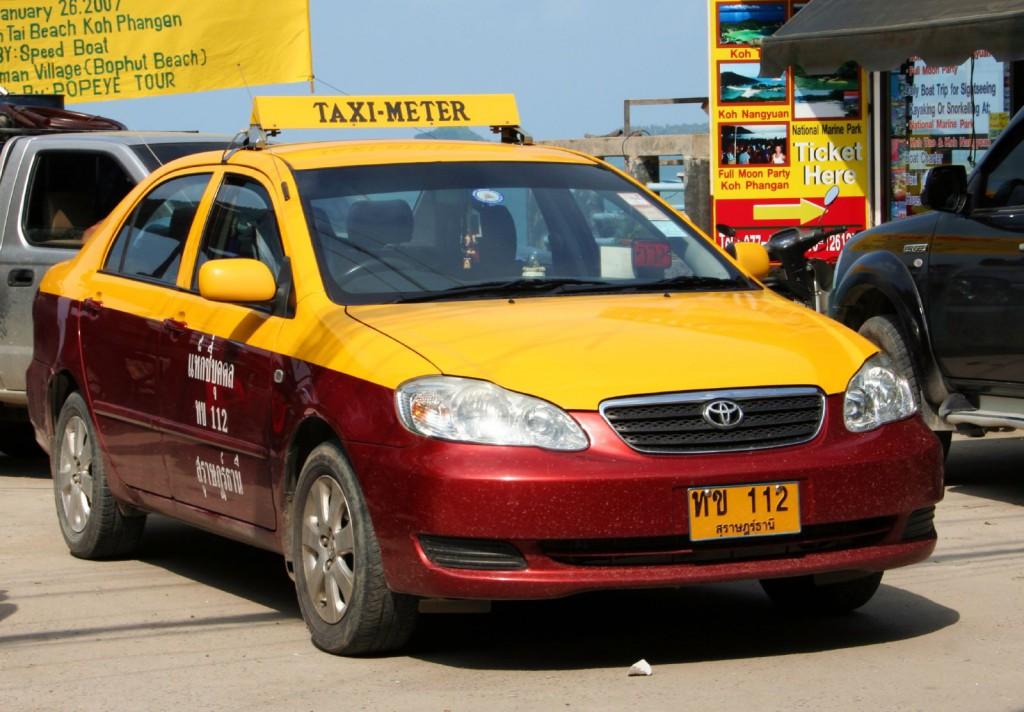 Можно воспользоваться услугами такси