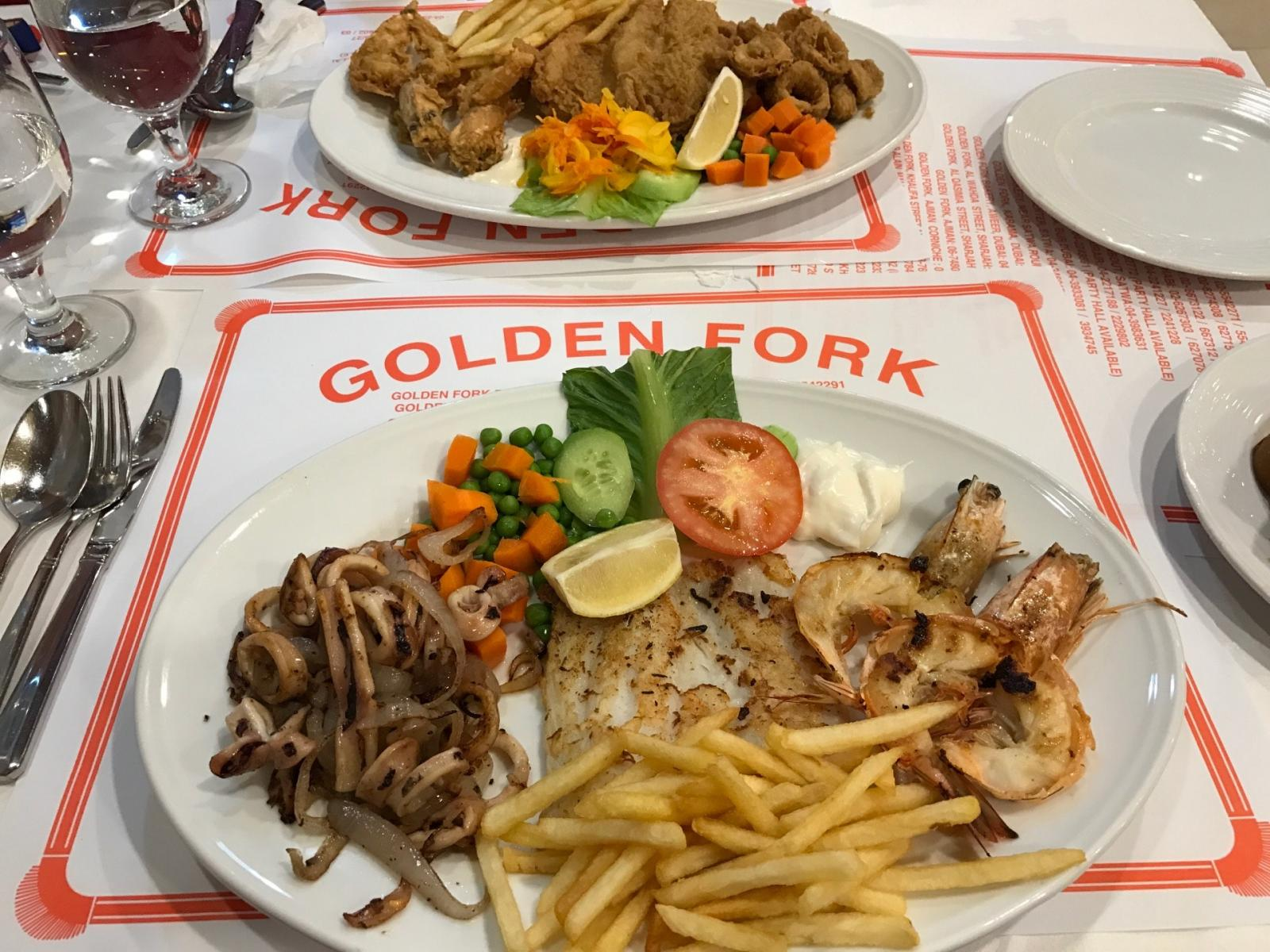 Ужин в Golden Fork