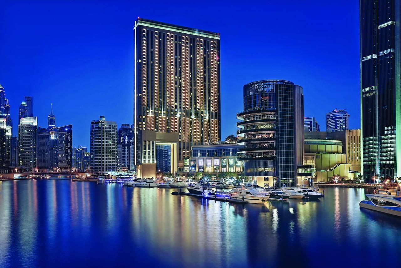 Отель Address Dubai Marina