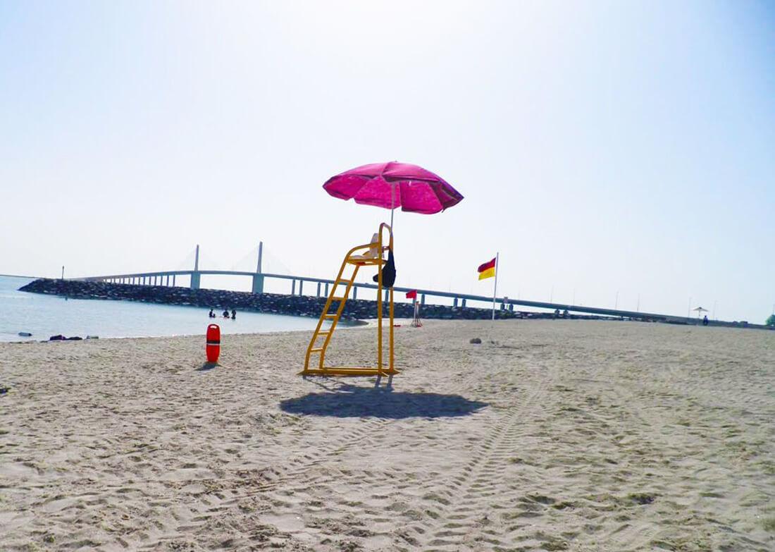 Пляж Аль Батин