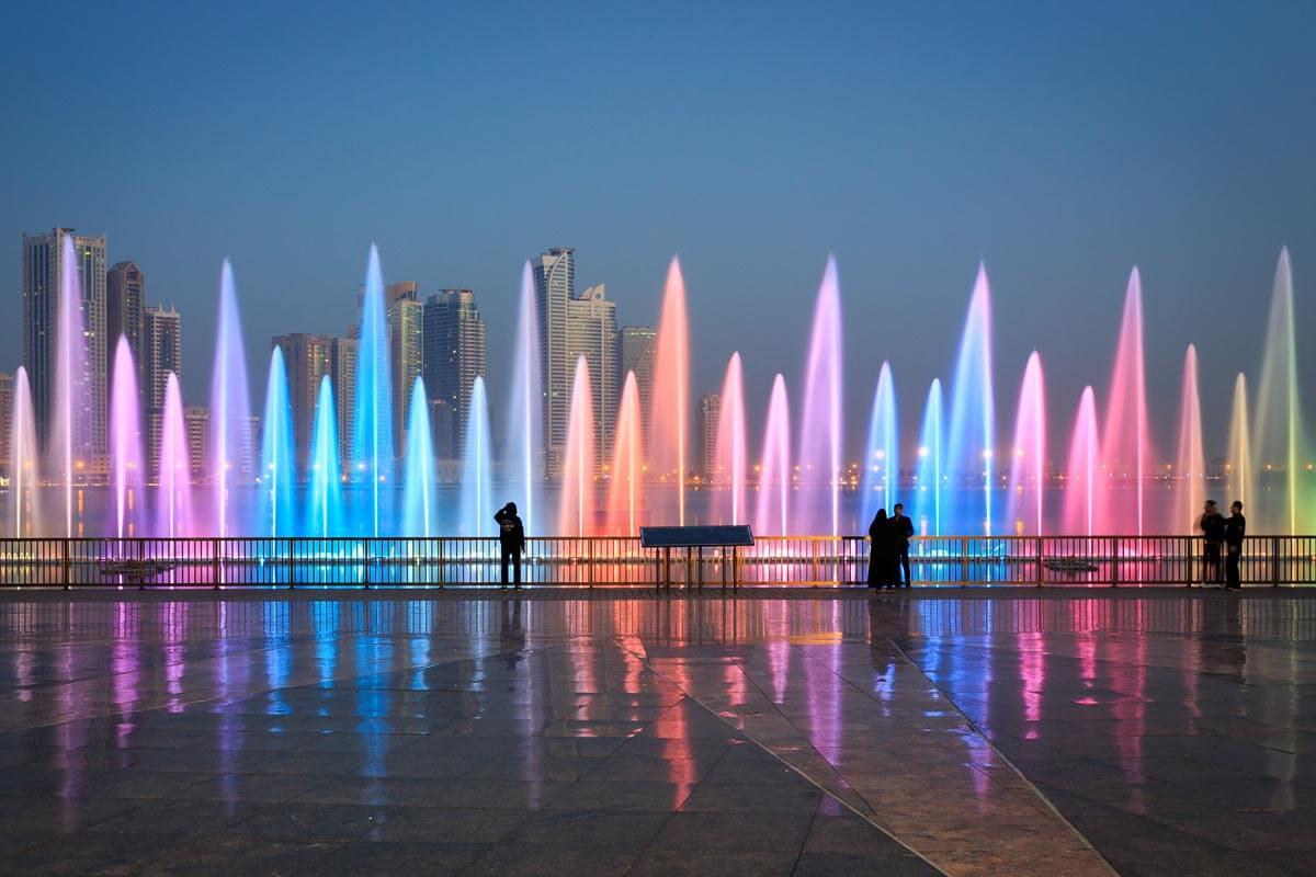 Танцующие фонтаны Аль Маджар