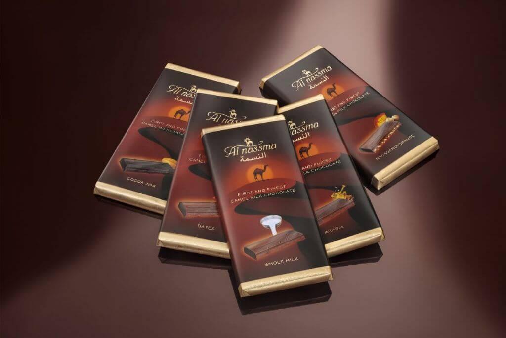 Известный шоколад Al Nassma
