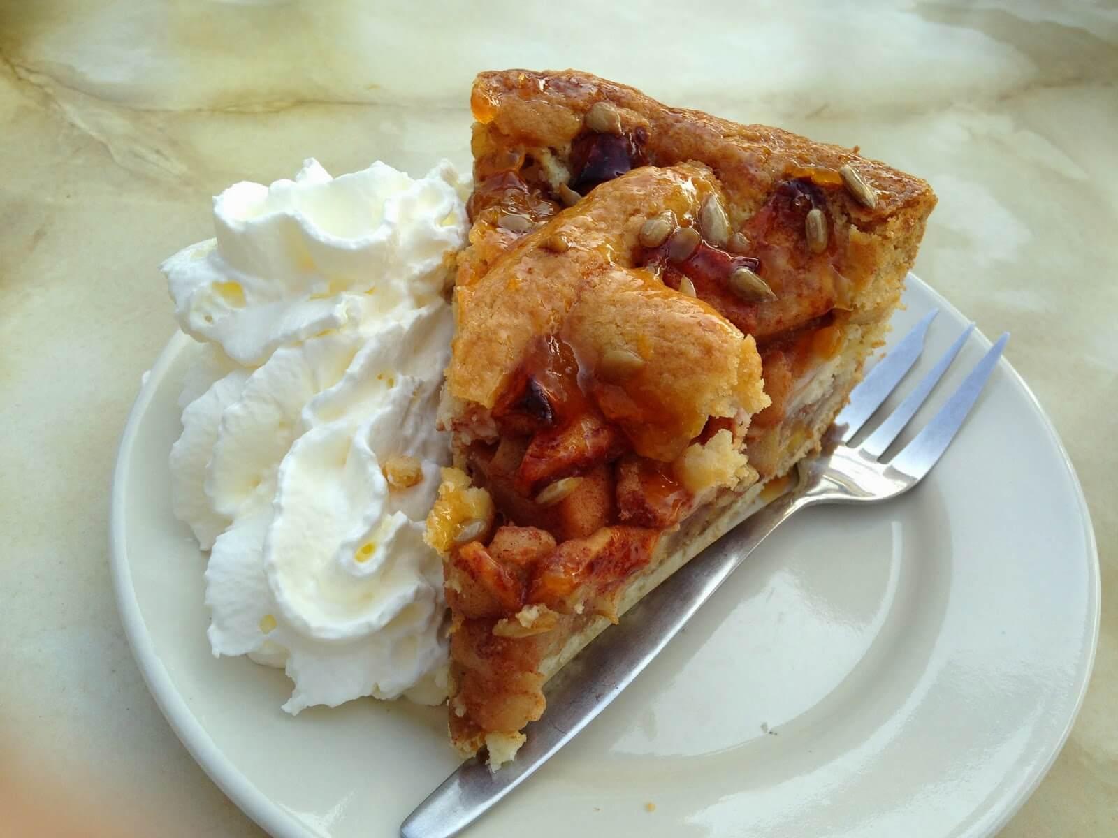 Яблочный пирог по голландски