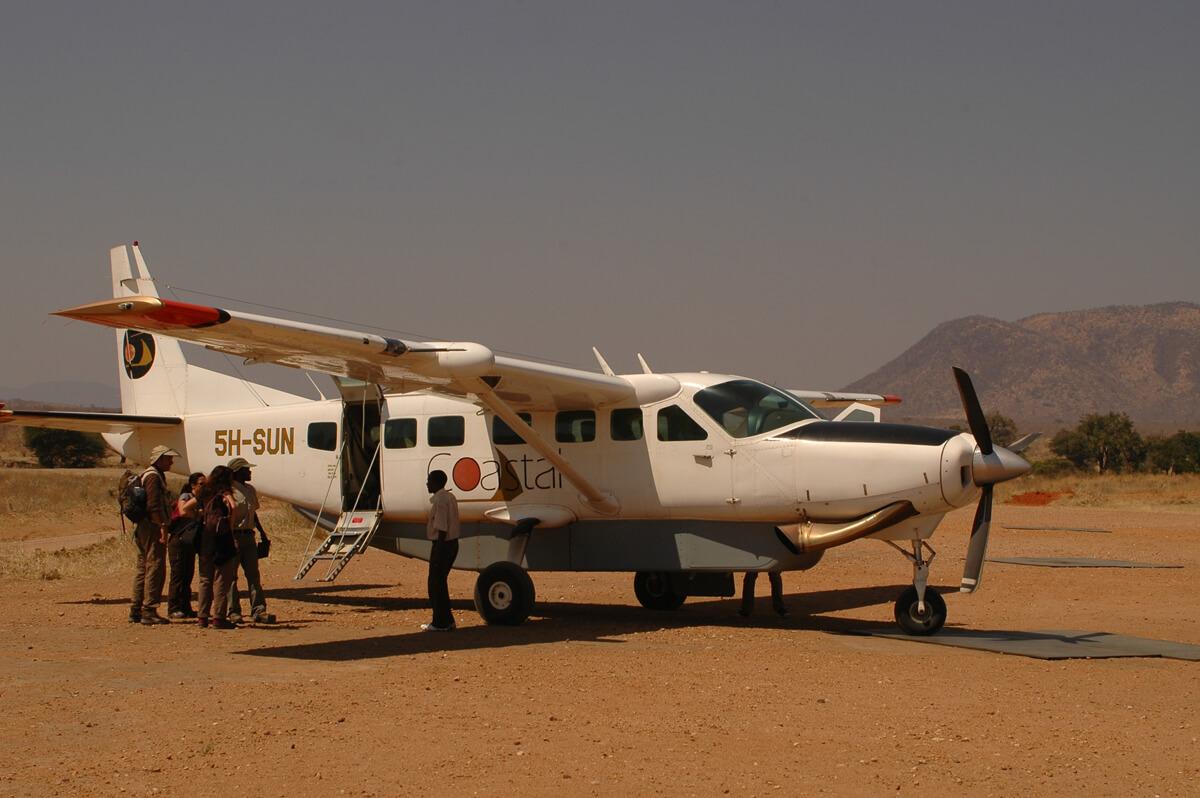Местная авиакомпания Coastal Aviation