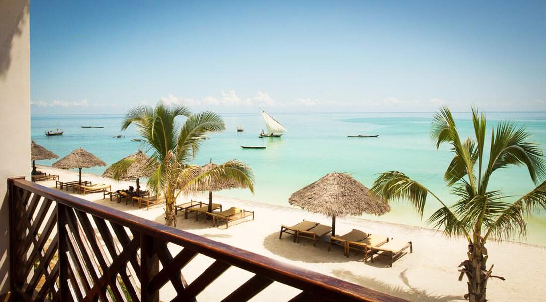 Вид из номера отеля DoubleTree Resort by Hilton