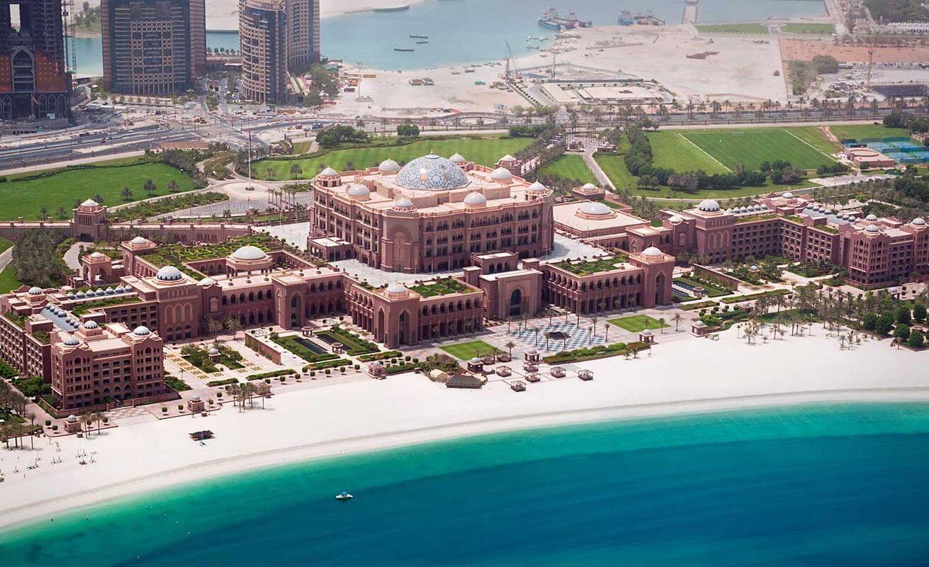 Отель Эмират Палас в Абу-Даби