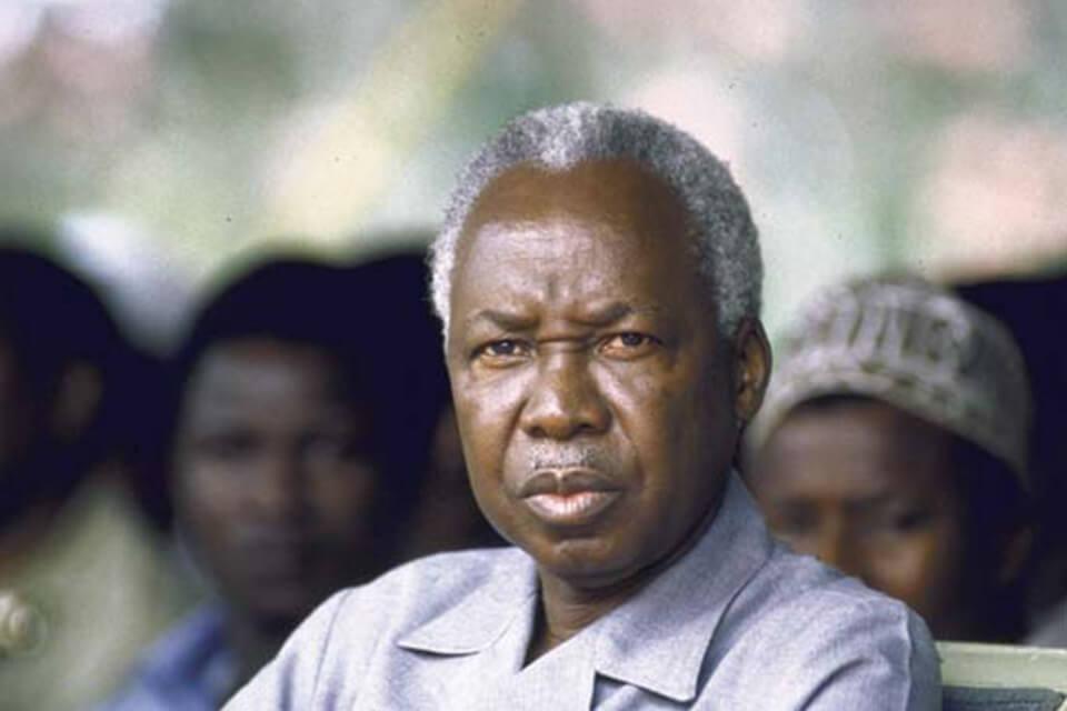 Первый президент Танзании Джулиус Ньерере