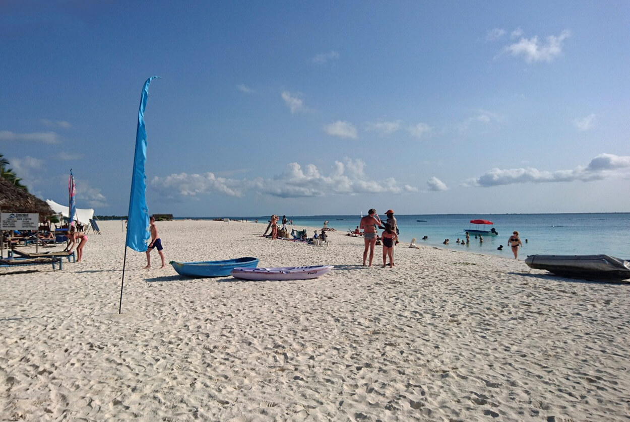 Пляж Kendwa Beach