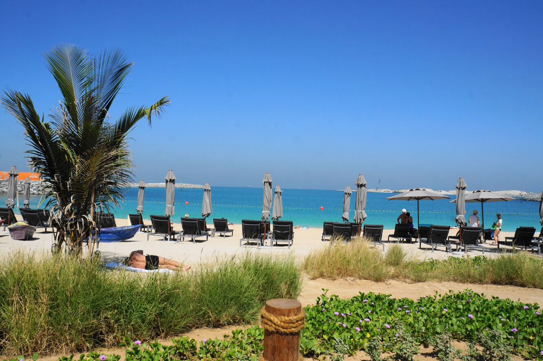 Пляж La Mer beach