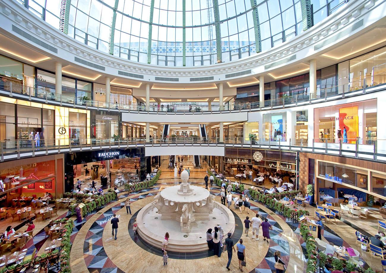 Mall of Emirates – огромный торговый центр