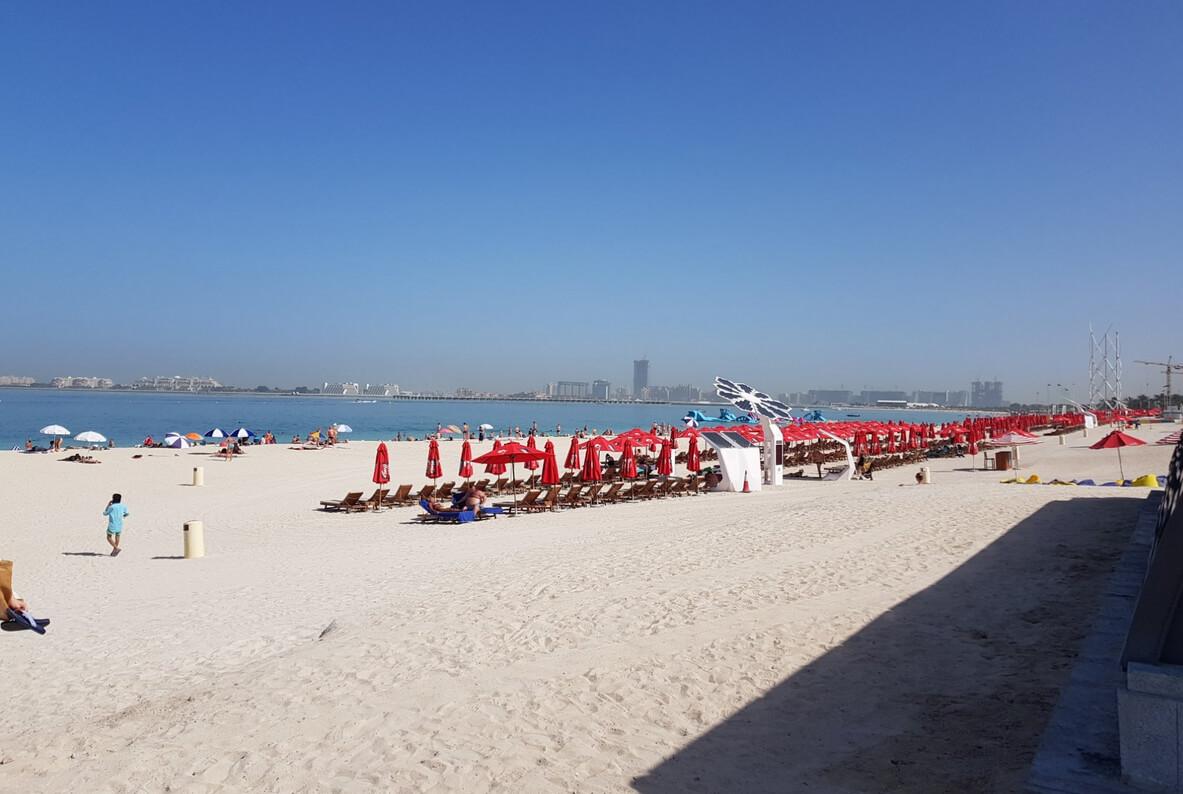 Пляж Марина бич в Дубае