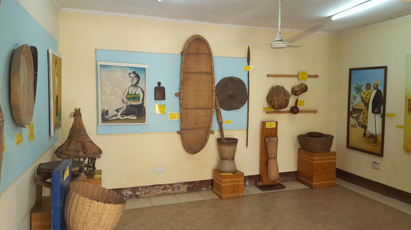 Экспонаты в Национальном музее