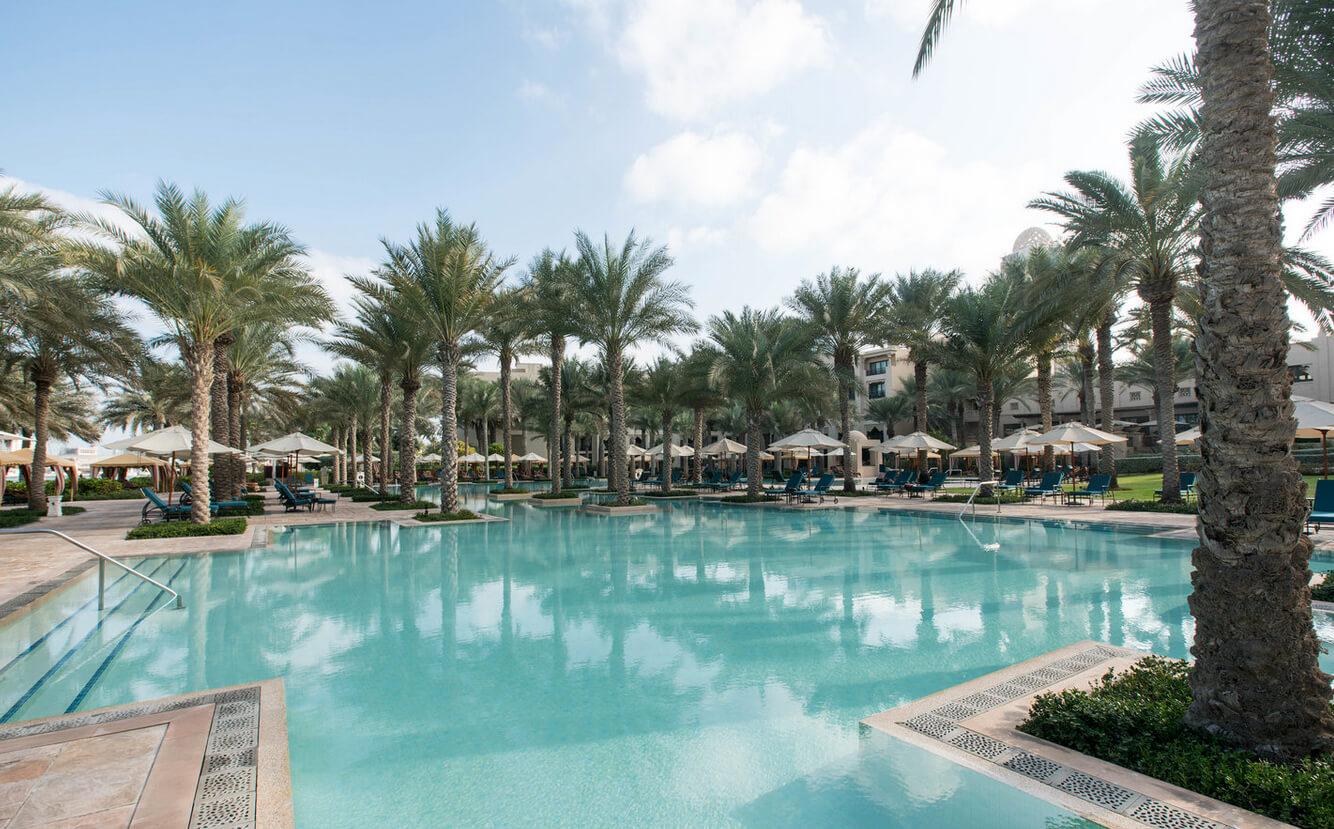 Басейны в отеле One&Only Royal Mirage Resort Dubai at Jumeirah Beach