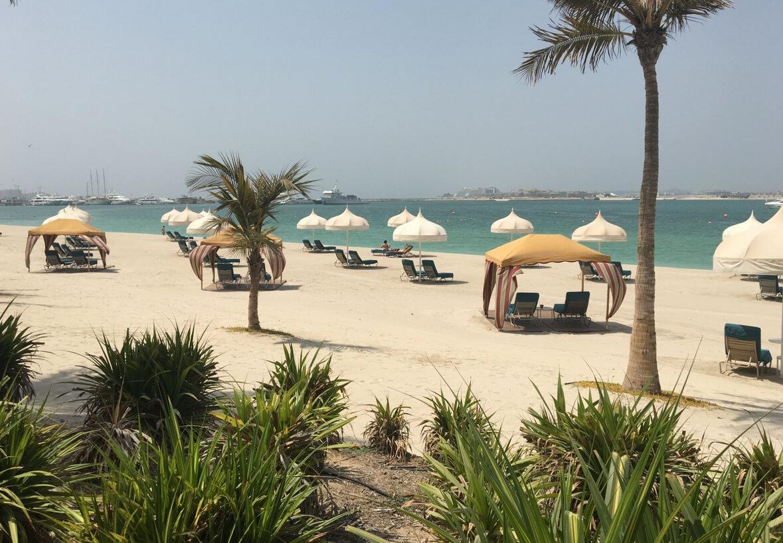 Пляж при отеле One&Only Royal Mirage Resort Dubai at Jumeirah Beach