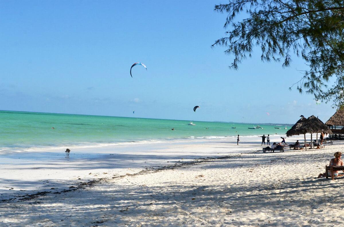Пляж Paje Beach
