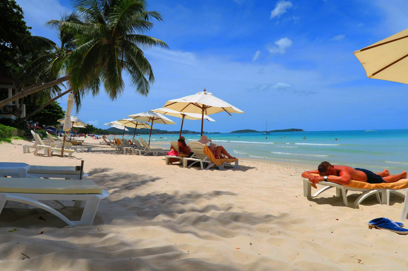 Гостиница Samui Paradise с великолепным пляжем