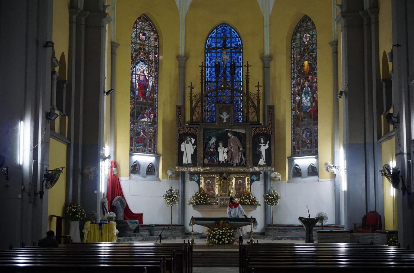 В соборе Святого Джозефа