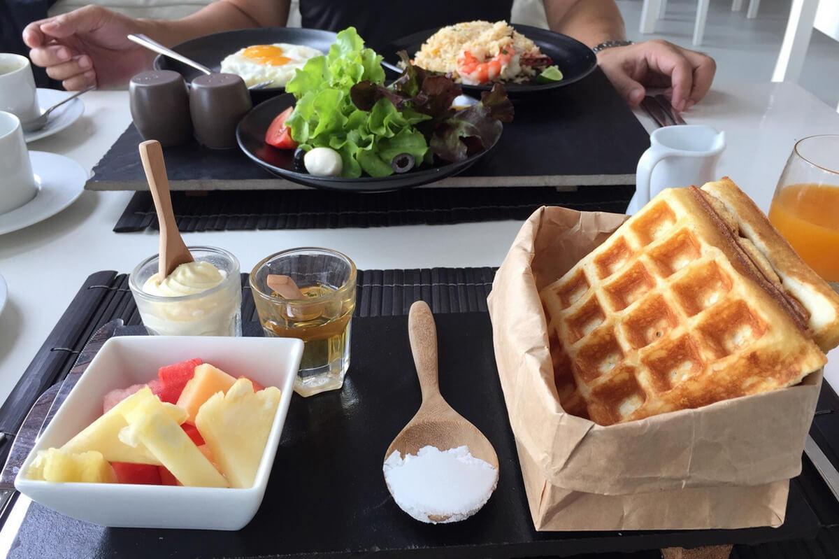 В стоимость проживания включен завтрак