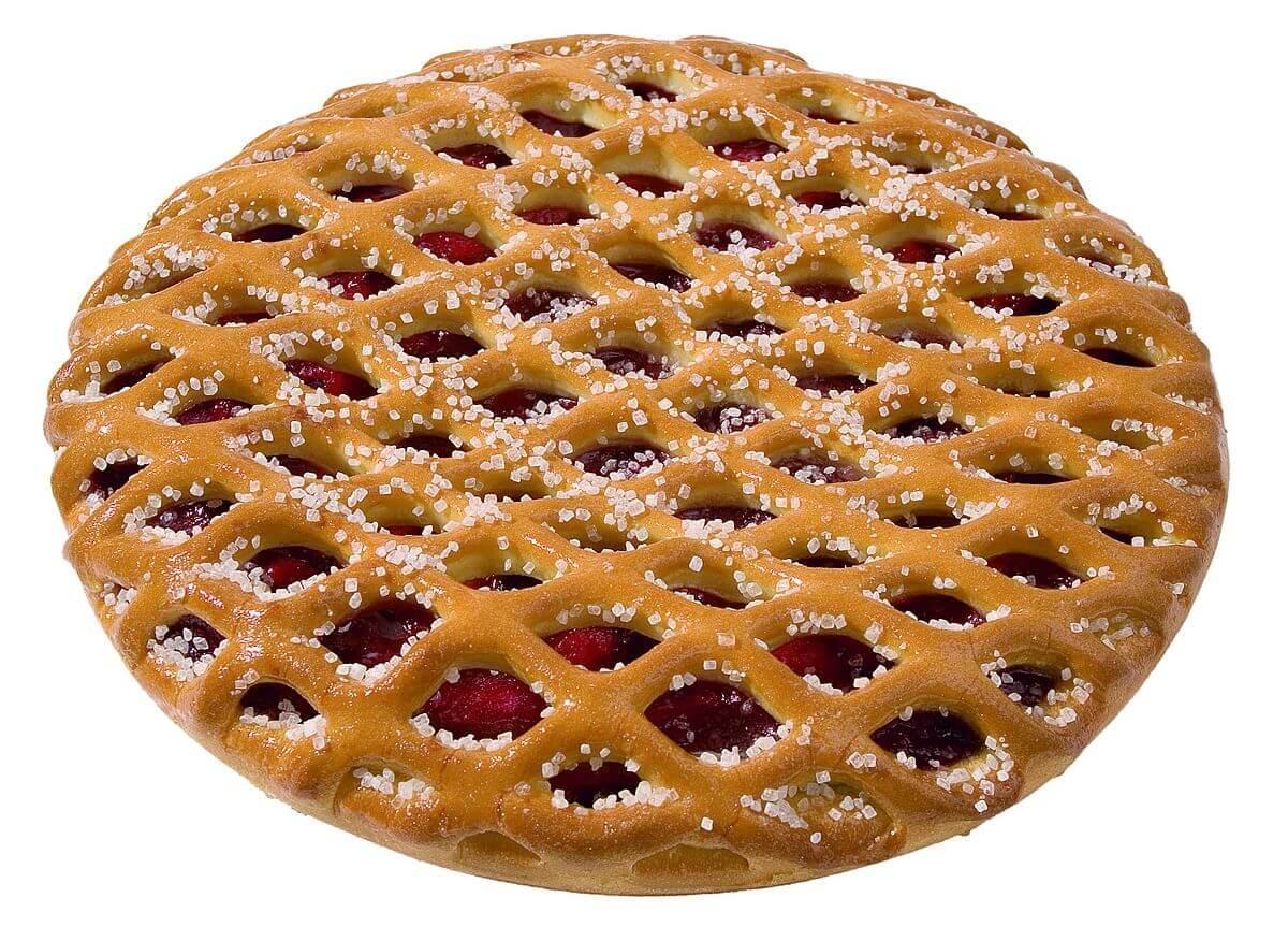 Vlaai – тонкий круглый пирог