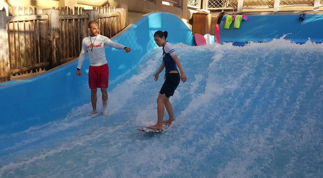 Бассейны с волнами - Wipeout and Riptide Flowriders