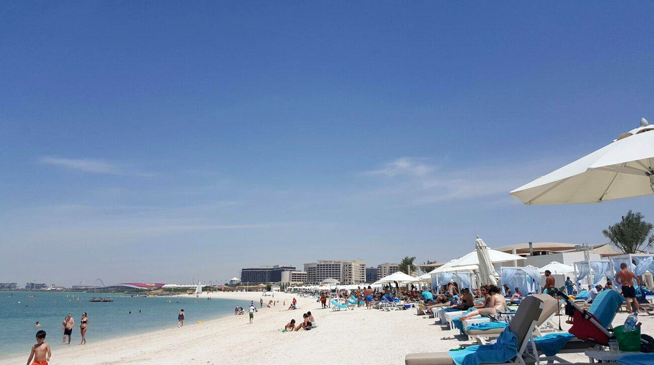 Пляж Яс, Абу-Даби