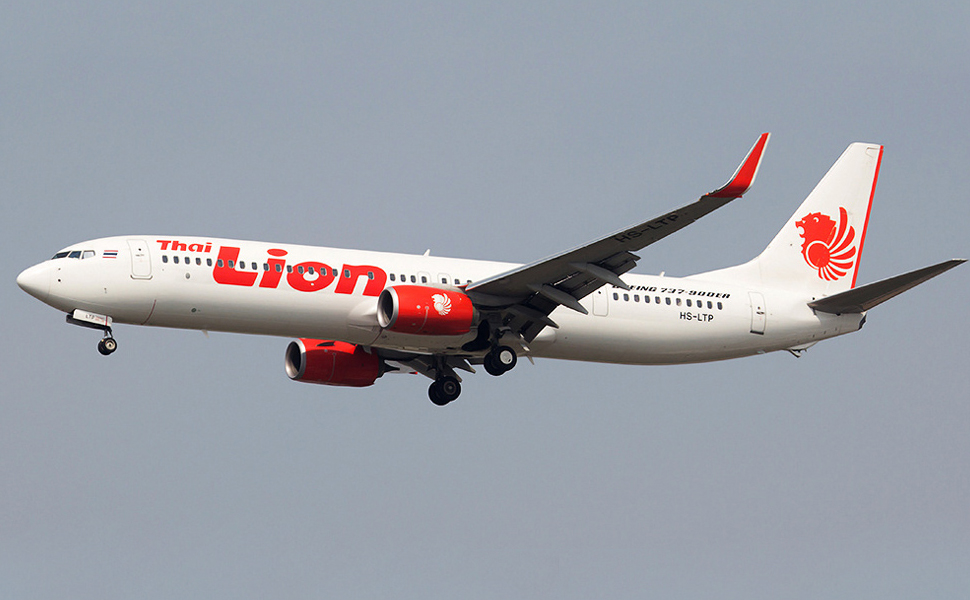 На самолете Thai Lion Air