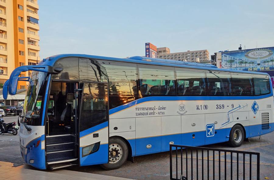 Автобус из Паттайя