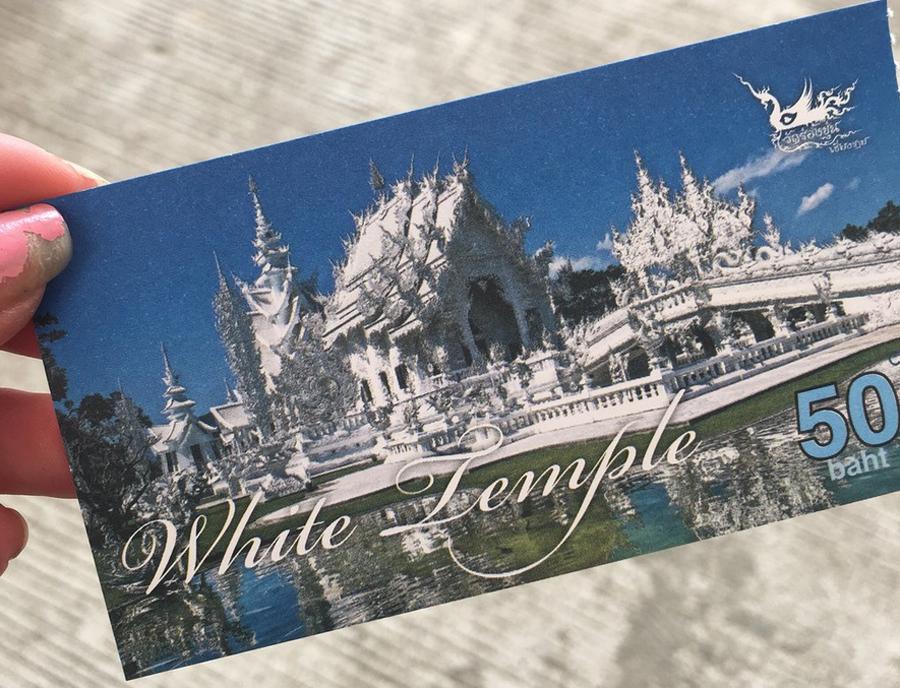 Билет в Храм Ват Ронг Кхун