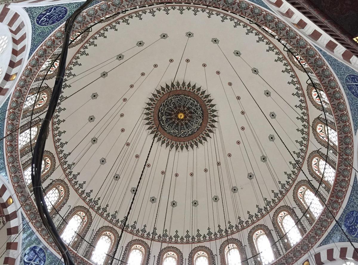 Главный купол мечети Рустема-паши