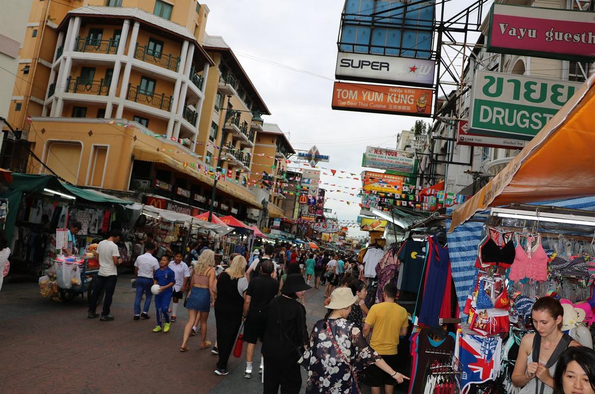 Каосан Роуд в Бангкоке
