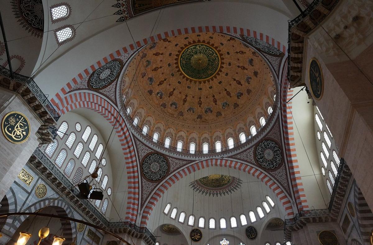 Купол мечети Сулеймание