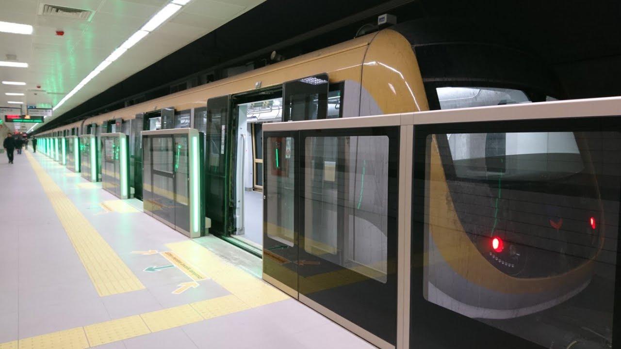 Необходимо сесть на линию метро «М1»